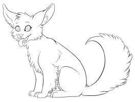 Free Animal Lineart by Sapphira-Page