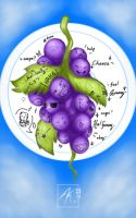 Emotions of Grapes by XaldinRamdzan