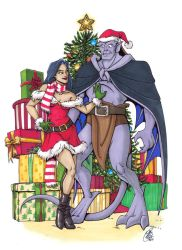 Deck the Halls with Elisa and Goliath by Kanthara