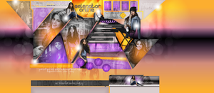 Layout ft. Selena Gomez 001 by PixxLussy