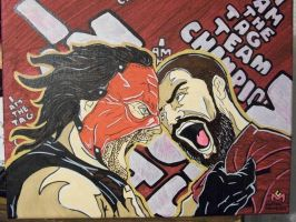 Team Hell No by CaptainMarvelous