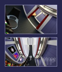 U.S.S. Inception - WIP 3 by Ptrope