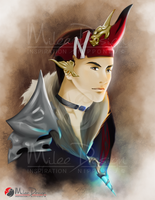 FFXIV Commission : Thalandor by Milee-Design