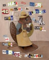 Bramble Beaver's Ransom Note by tursiart