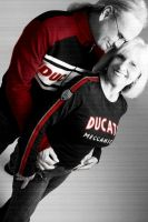 steve and judy ducati lovin by pinkat13