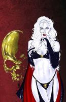 Lady Death NYCC Thursday by MDiPascale