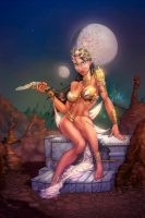 Dejah Thoris color by cehnot