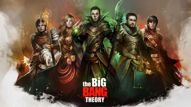 The Big Bang Theory - The Adventurers Wallpaper by theDURRRRIAN