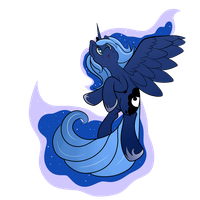 Midnight Luna by thepiplup