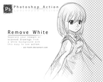 Remove White- Photoshop Action by darue