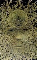 GreenMan by knotty-inks