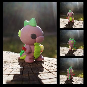 MLP Spike Figure by HappyMach