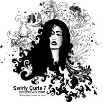 Swirly Curls 7 - Medusa's Hot by namespace