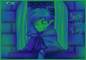 .:LoY - Pallete Challenge #5 - Jack the Spy:. by AquaGD
