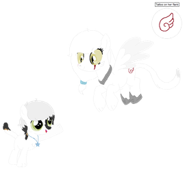Burns Maow and Loyal White by ShimmerStarGirl12