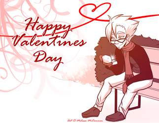Happy Valentines Day by ArtByMelissaM