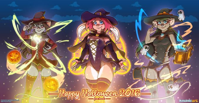 Happy Halloween 2016 by funkyalien