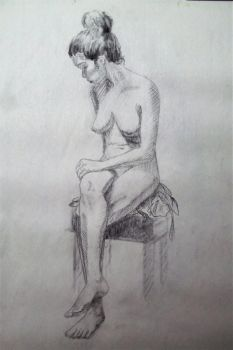 Figure Drawing 2 by JaceyKing