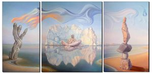 Patience Triptych by gyurka