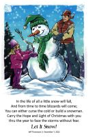 2012 Christmas Card by SkyFitsJeff