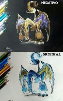 Chalizard negative effect -  Pokemon by um-dragao-por-dia