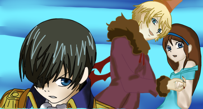 Ciel Alois and Aileen by QueenBrittStalin