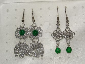 two Pairs of Earrings by Des804