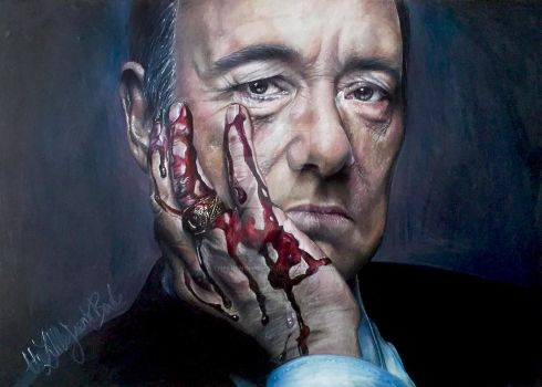 Kevin Spacey PRINT by thefrenchberet
