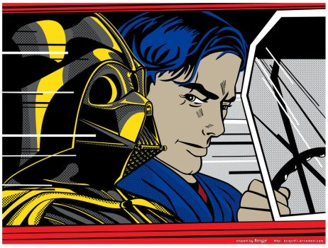 StarWars PopArt - In the Hover by Bergie81