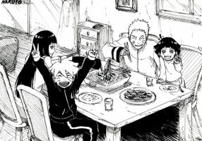 Family Dinner by NaruHinaIndonesia