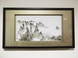 Huang shan mountains by blackbeat