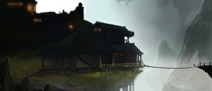House on the hill by ChrisJRees