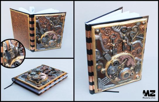 Copper Clockwork Journal by Madelei