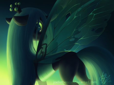 Bug Queen by JoelletheNose