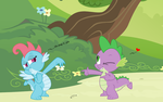 Dim Sum and Spike by MidnightBlitzz