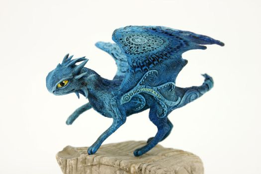 Blue - RGL-project dragon by hontor