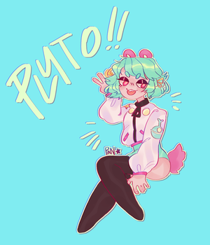 pluto! by panstarry