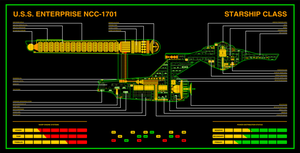 U.S.S. Enterprise NCC-1701 by Bmused55