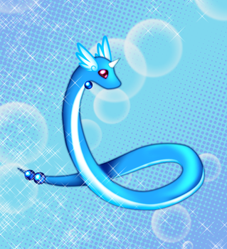 A Dragonair for Eleanor by plangkye