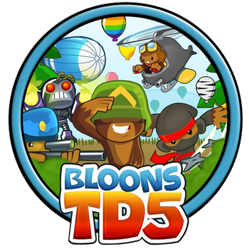 Bloons Tower Defense 5 Icon by habanacoregamer