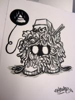 Tangela sketch by MFMugen