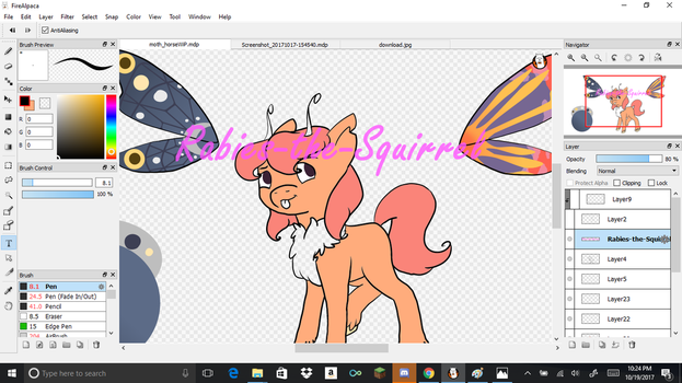 New OC WiP by Rabies-the-Squirrel