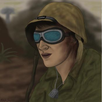 Snippy WWII Soldier by ItsMeMelody