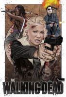 Andrea Walking Dead by ted1air