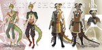 [OPEN AUCTION] Spring Shopkeepers by 3-X-E