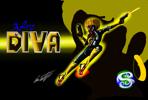 Afro Diva wallpaper by MrSman5