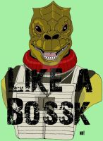 Like a Bossk by nathanobrien