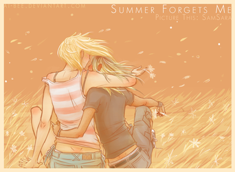 PT - Summer Forgets Me by Beedalee-Art