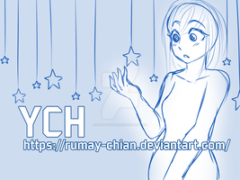 [YCH Auction] Star girl (Paypal CLOSED) by Rumay-Chian