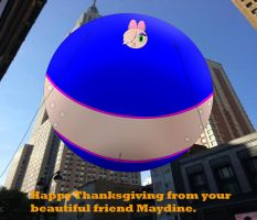 Maydine Thanksgiving Float by MedalBambi